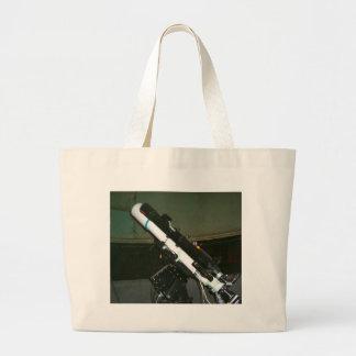 Pequeño telescopio del planetario bolsa tela grande