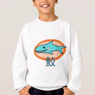 Pequeño tiburón sudadera