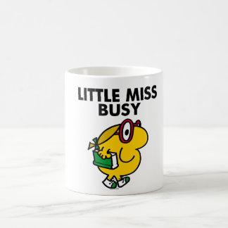 Pequeño tiempo de lectura de Srta. Busy el | Taza De Café