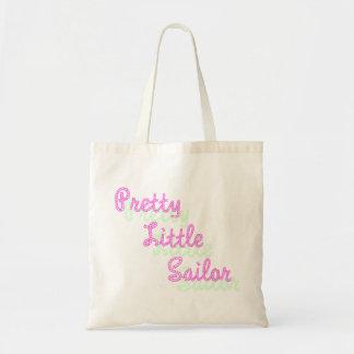 Pequeño tote bonito del presupuesto del marinero bolsas de mano