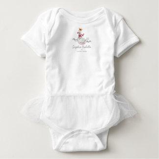 Pequeño tutú del mono de la niña el | de princesa body para bebé