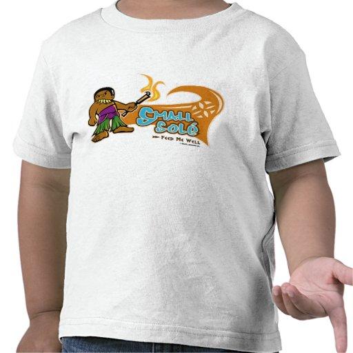 Pequeño único a todo color camiseta