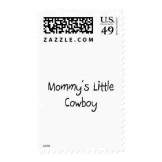 Pequeño vaquero de Mommys Sello