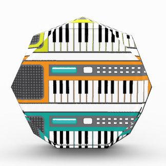 Pequeño vector del teclado