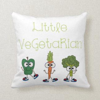 Pequeño vegetariano almohada