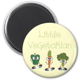 Pequeño vegetariano imán