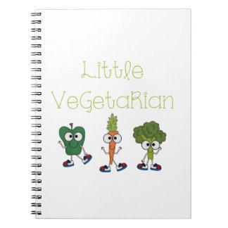Pequeño vegetariano libretas
