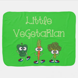 Pequeño vegetariano mantitas para bebé