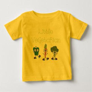 Pequeño vegetariano playera de bebé