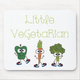 Pequeño vegetariano tapete de ratones