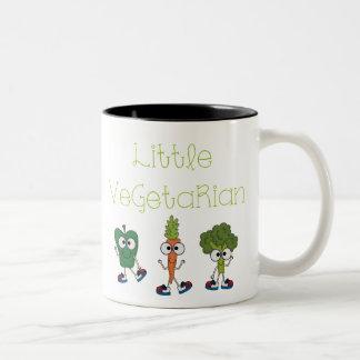Pequeño vegetariano taza
