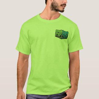 Pequeño verde del logotipo de NTA Playera