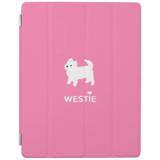 Pequeño Westie lindo - montaña del oeste Terrier Cover De iPad