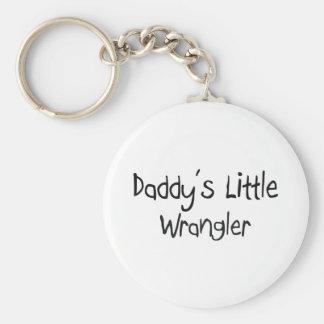Pequeño Wrangler del papá Llavero Redondo Tipo Pin