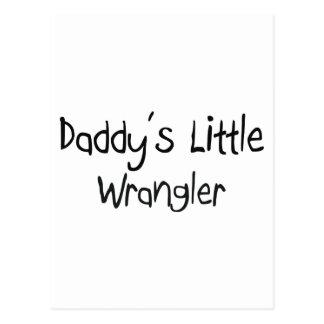 Pequeño Wrangler del papá Postales