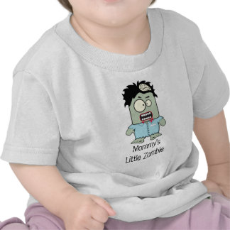 Pequeño zombi de Mommys Camisetas