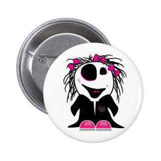 pequeño zombi lindo femenino pin