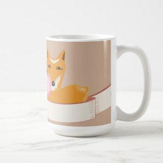 Pequeño zorro taza