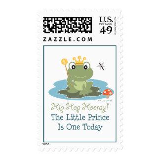 Pequeños 1ros sellos del cumpleaños de príncipe Fr
