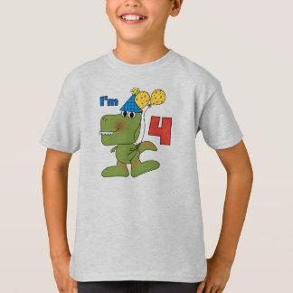 Pequeños 4tas camisetas y regalos del cumpleaños