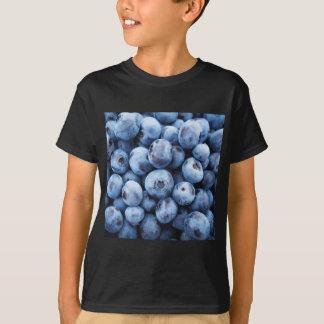 Pequeños arándanos azules - impresión de la fruta polera