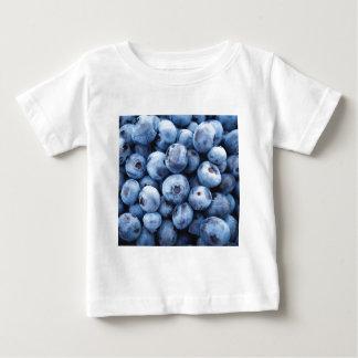 Pequeños arándanos azules - impresión de la fruta remera