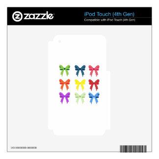 Pequeños arcos lindos del lunar iPod touch 4G skin