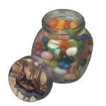 Pequeños barcos de pesca de Mauricio Prendergast-, Frascos De Cristal Jelly Belly