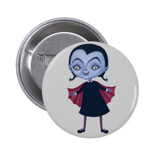 Pequeños botones del vampiro pin