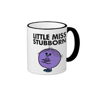 Pequeños brazos de Srta. Stubborn el | cruzados Taza De Dos Colores