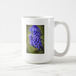 Pequeños brotes azules taza clásica