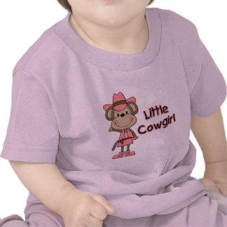 Pequeños camisetas y regalos de la vaquera del