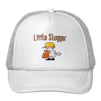 Pequeños camisetas y regalos del bateador del béis gorra