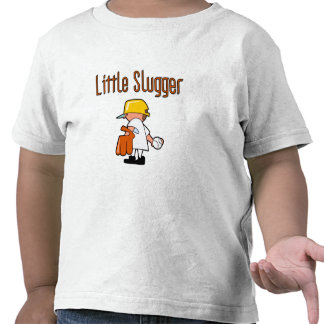 Pequeños camisetas y regalos del bateador del béis