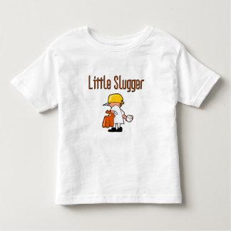Pequeños camisetas y regalos del bateador del playeras