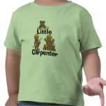 Pequeños camisetas y regalos del carpintero del