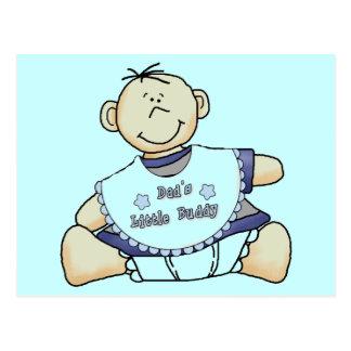 Pequeños camisetas y regalos del compinche del postal