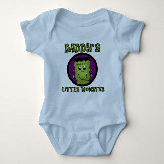 Pequeños camisetas y regalos del monstruo del papá playera