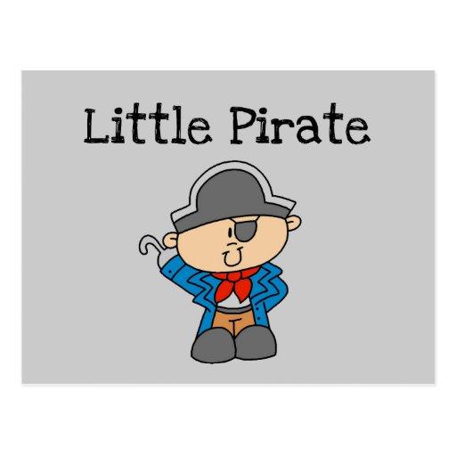 Pequeños camisetas y regalos del pirata postales