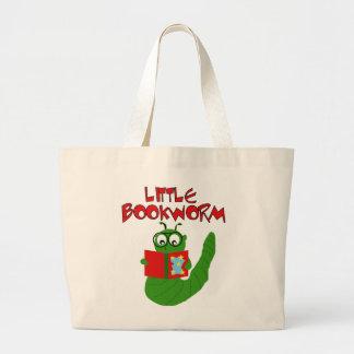 Pequeños camisetas y regalos del ratón de bibliote bolsas lienzo