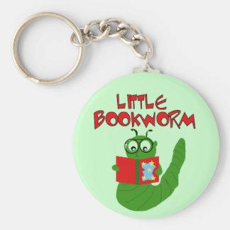 Pequeños camisetas y regalos del ratón de bibliote llavero redondo tipo pin