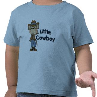 Pequeños camisetas y regalos del vaquero del mono