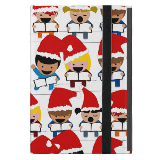 Pequeños Carolers del navidad iPad Mini Cárcasa