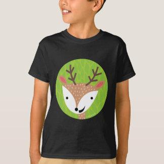 Pequeños ciervos - amigos del arbolado playera