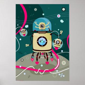 Pequeños cosmonautas poster