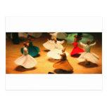pequeños derviches tarjeta postal