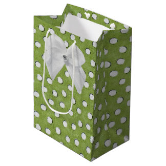 Pequeños dieciséis dulces bolsa de regalo mediana