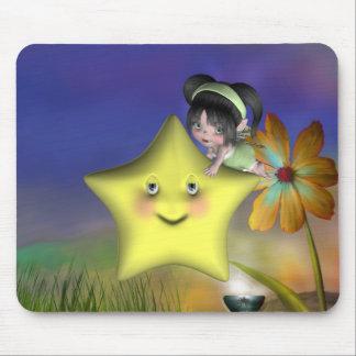 Pequeños fairys lindos 1 del bebé del bebé de Toon Tapete De Ratones