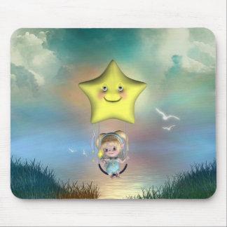 Pequeños fairys lindos 1 del bebé del bebé de Toon Alfombrillas De Ratón