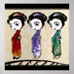 Pequeños geishas posters